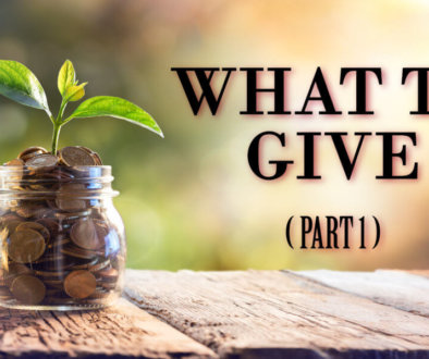 Ways to Give Part 1-01-01